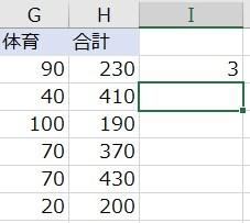 計算結果(昇順)